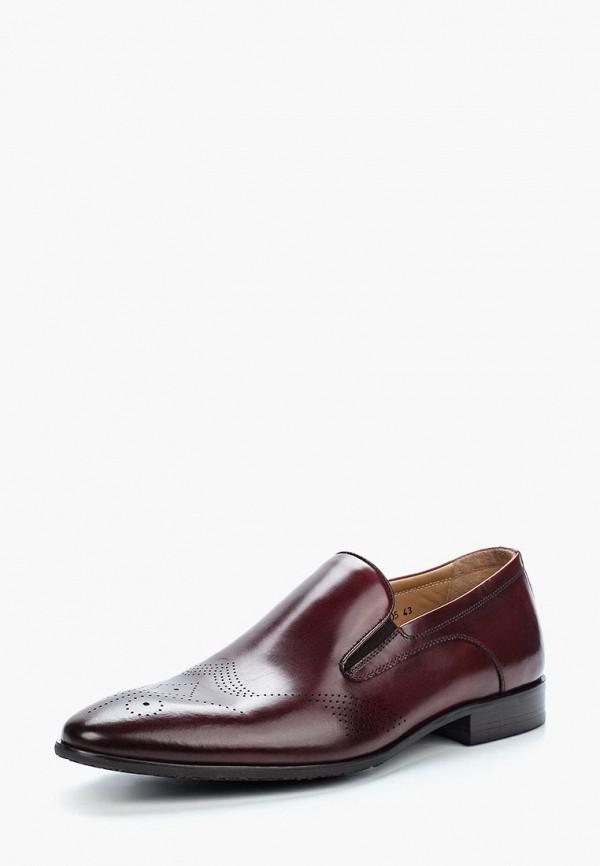 мужские туфли vitacci, бордовые
