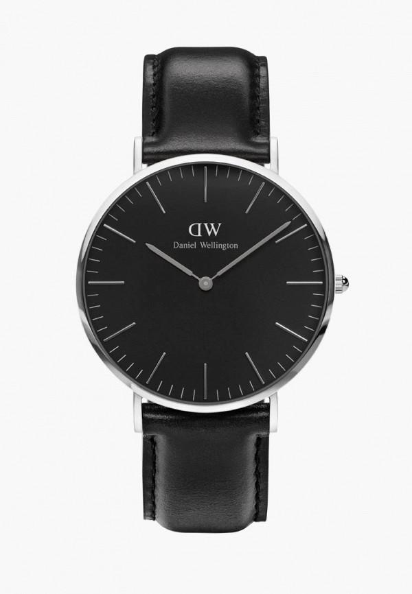 мужские часы daniel wellington, черные