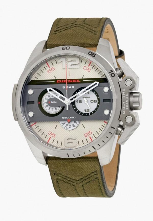 мужские часы diesel, зеленые