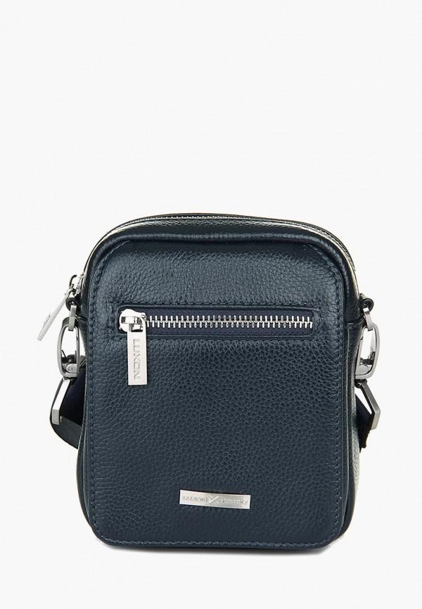 мужская сумка luxon, синяя