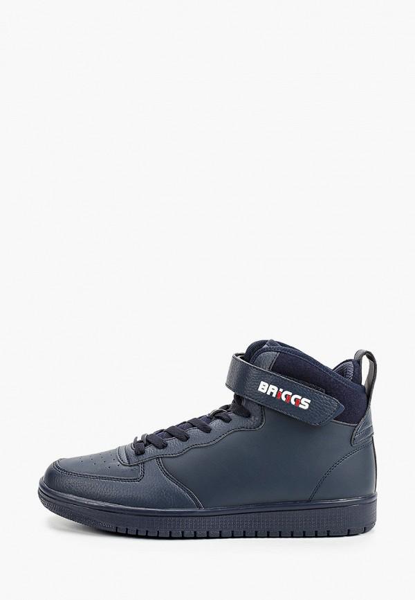 мужские высокие ботинки briggs, синие