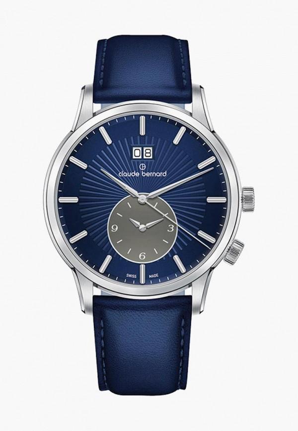 мужские часы claude bernard, синие