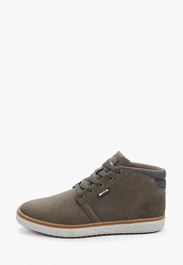мужские высокие ботинки briggs, хаки