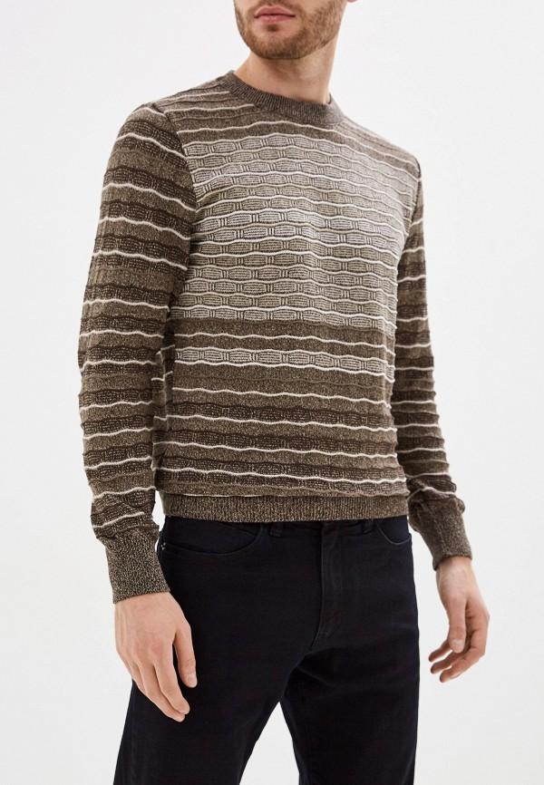 Джемпер Стим коричневого цвета