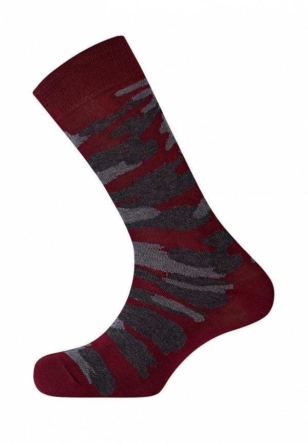 мужские носки punto blanco, бордовые