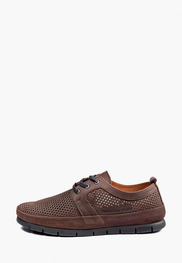 мужские туфли my day, коричневые