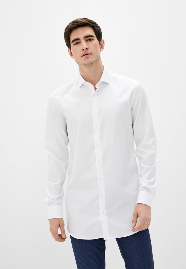 Рубашка Eterna цвет белый  Фото 4