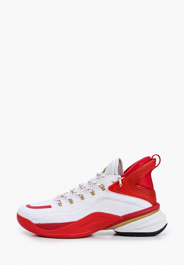 мужские низкие кроссовки anta, красные