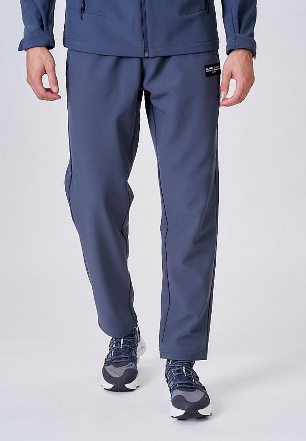 мужские спортивные брюки li-ning, синие