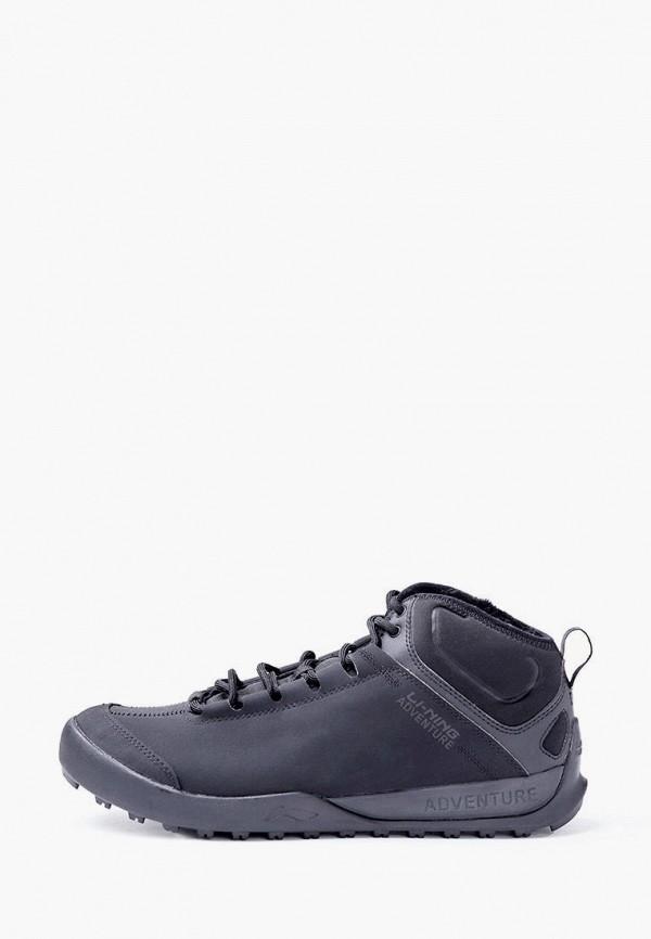 мужские кроссовки li-ning, черные