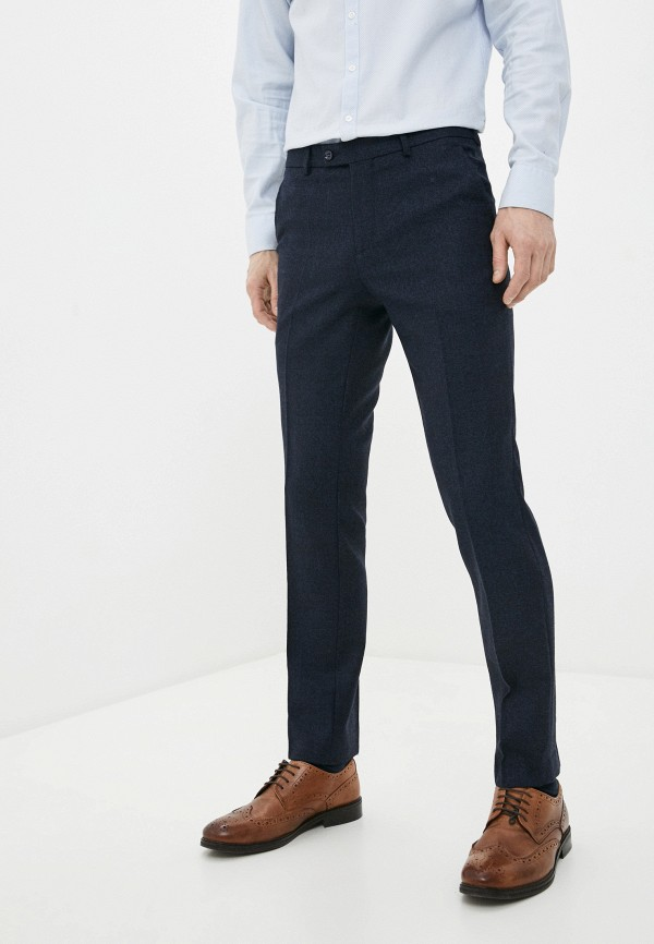 мужские классические брюки bazioni, синие