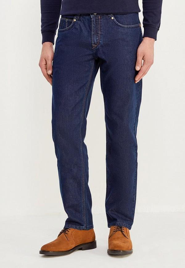 мужские зауженные джинсы cudgi, синие