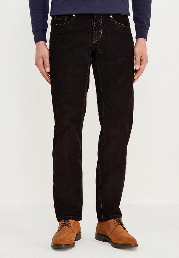 мужские зауженные брюки cudgi, черные