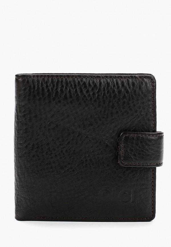 мужской кошелёк olci, коричневый