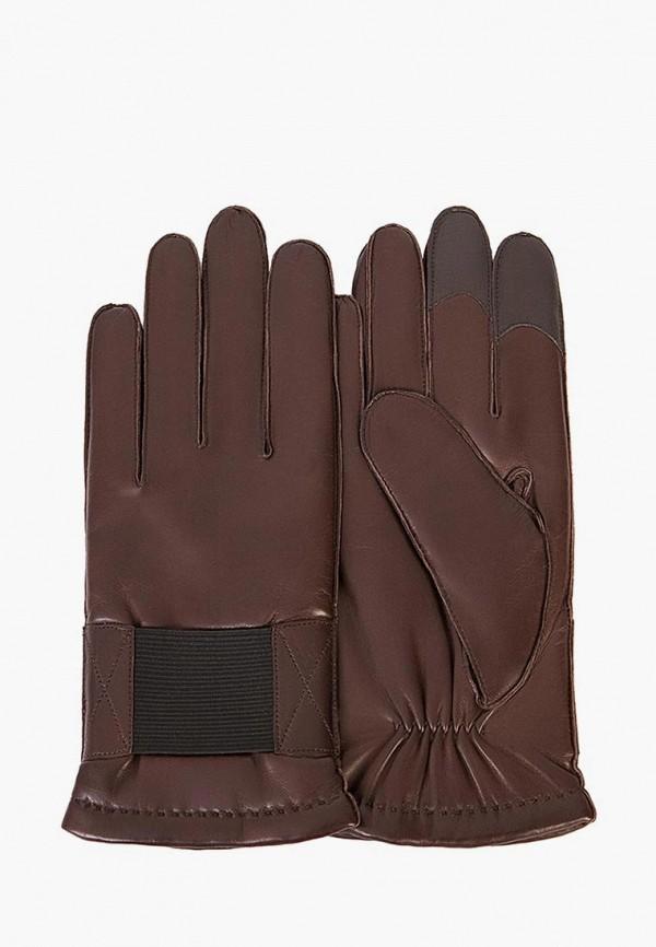 мужские перчатки michel katana, коричневые