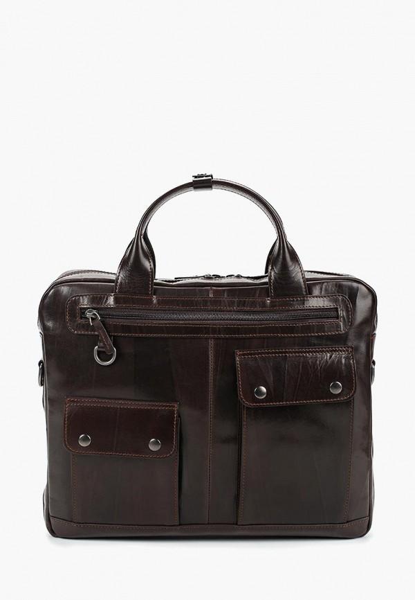 мужская сумка alexander tsiselsky, коричневая