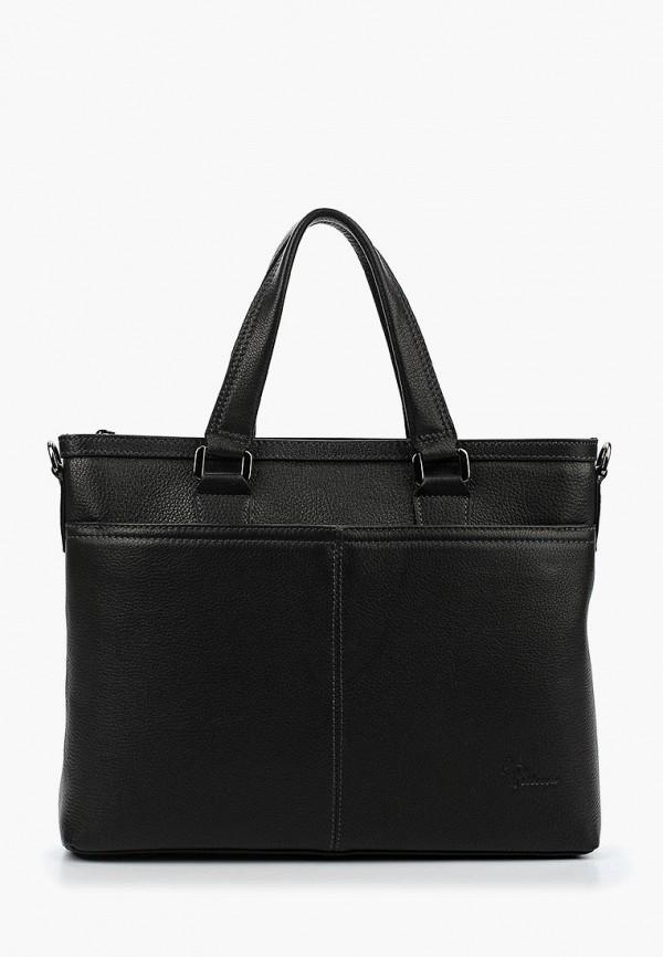 Фото - Мужскую сумку Pellecon черного цвета