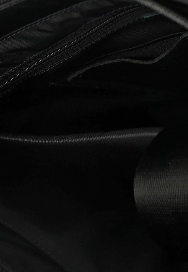 Фото 3 - Мужскую сумку Pellecon черного цвета