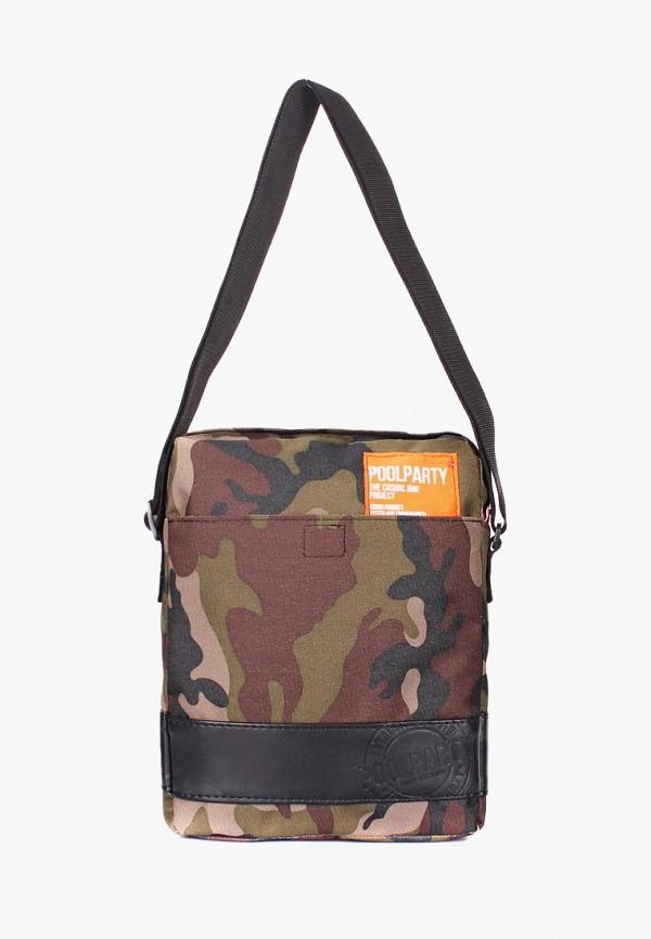 мужская сумка poolparty, хаки