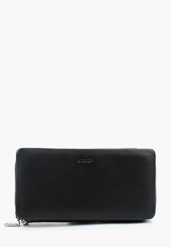 мужской кошелёк galib, черный