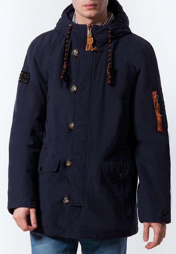 Купить Куртка утепленная Finn Flare, MP002XM0YG0V, синий, Весна-лето 2018
