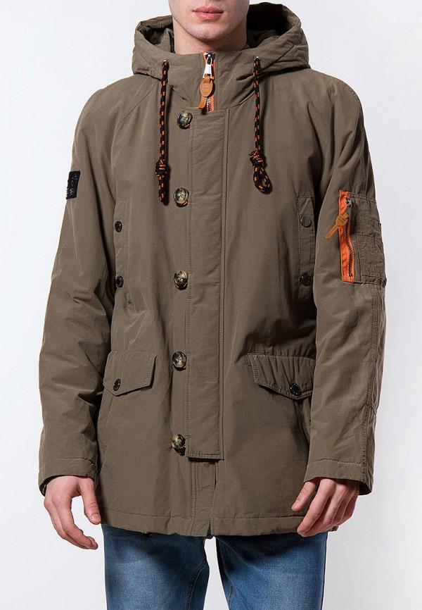 Купить Куртка утепленная Finn Flare, MP002XM0YG0Y, хаки, Весна-лето 2018