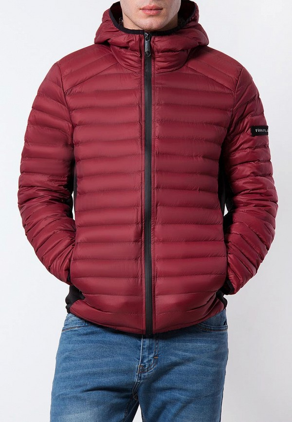 Купить Куртка утепленная Finn Flare, mp002xm0yg1q, бордовый, Весна-лето 2018