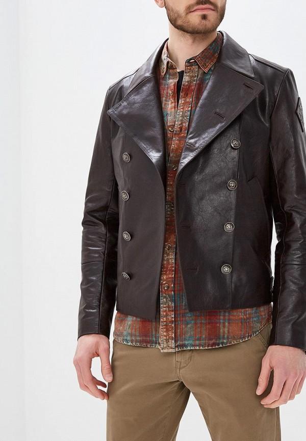 Куртка кожаная Bos Bison Bos Bison MP002XM0YG4H bison denim vintage designer 100