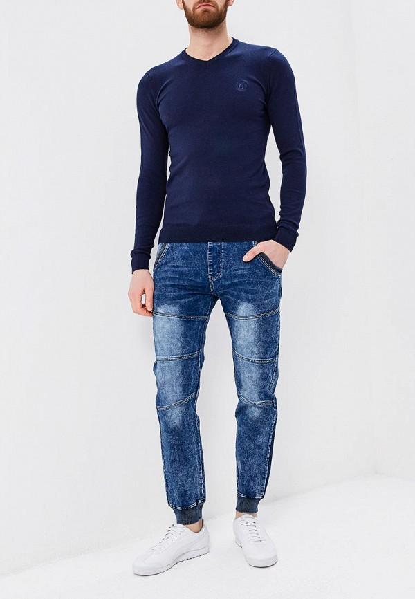 Пуловер Ombre цвет синий  Фото 2