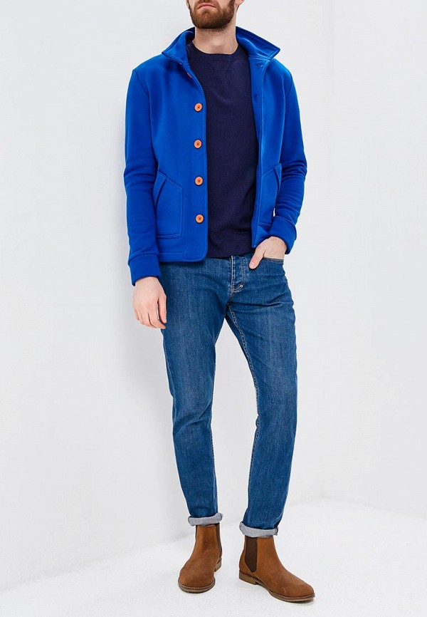 Кардиган Ombre цвет синий  Фото 2