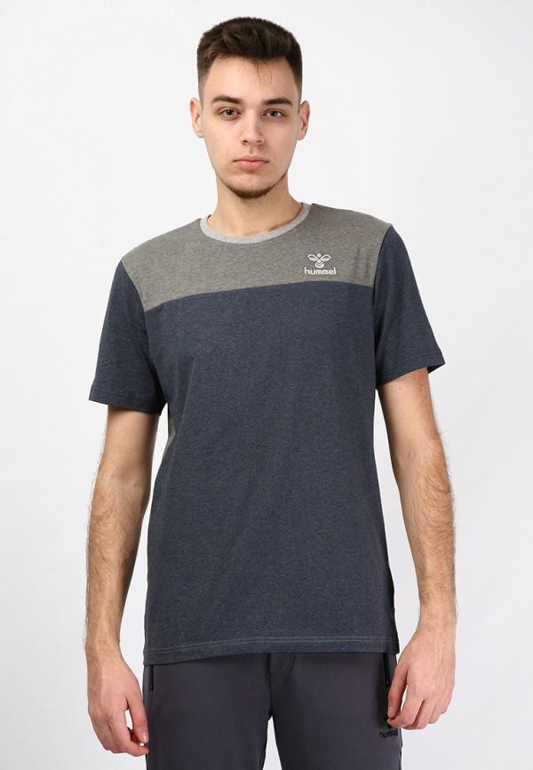 мужская футболка hummel, серая