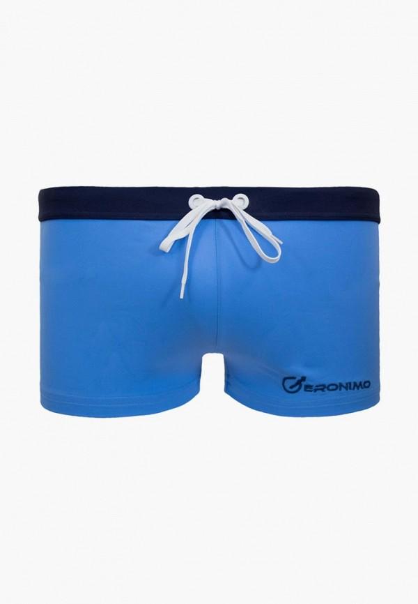 мужские плавки geronimo, голубые