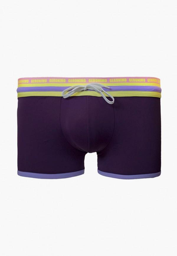 мужские плавки geronimo, фиолетовые