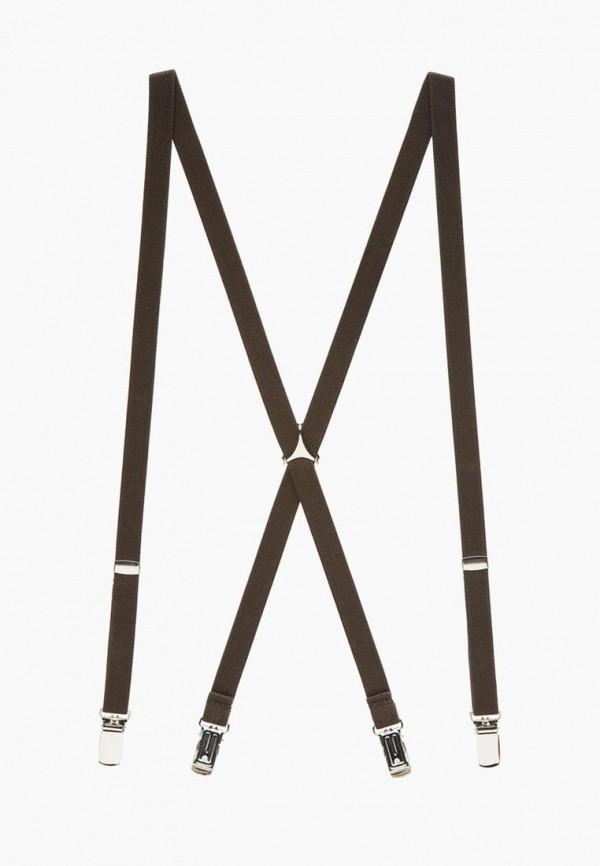 мужские подтяжки lindenmann, коричневые