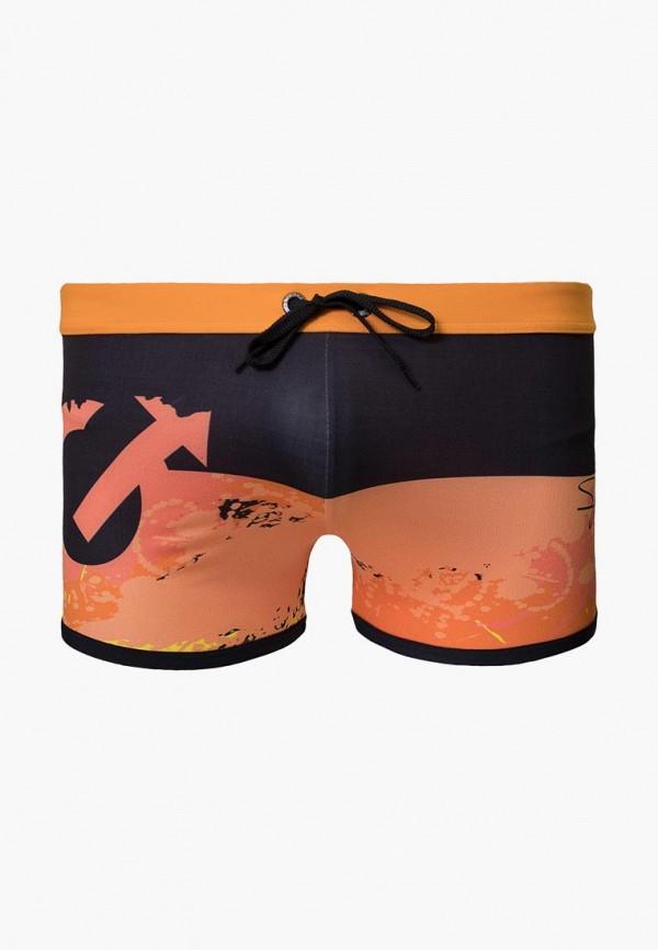мужские плавки geronimo, оранжевые