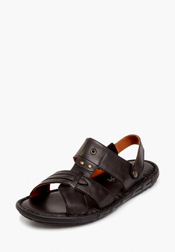 мужские сандалии pierre cardin, черные