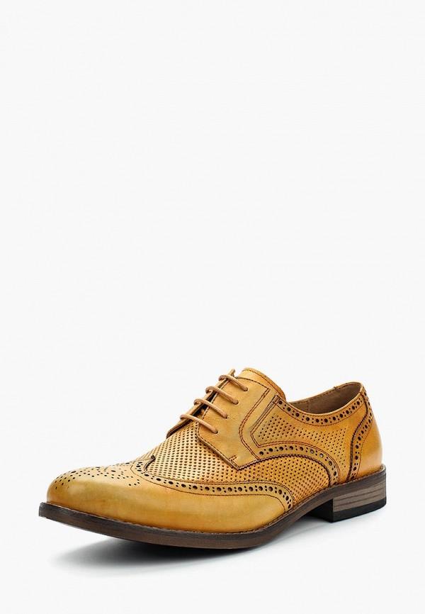 мужские туфли-дерби vitacci, желтые