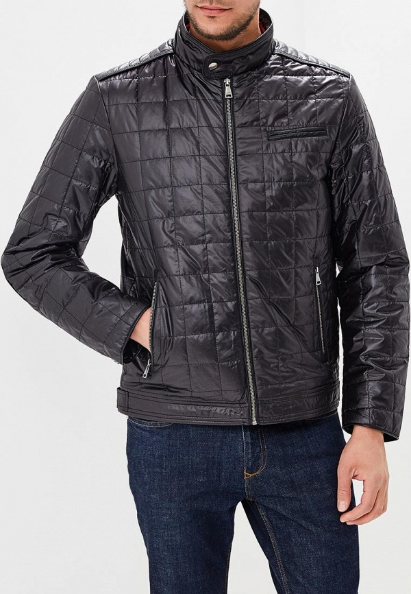 мужская куртка al franco, черная