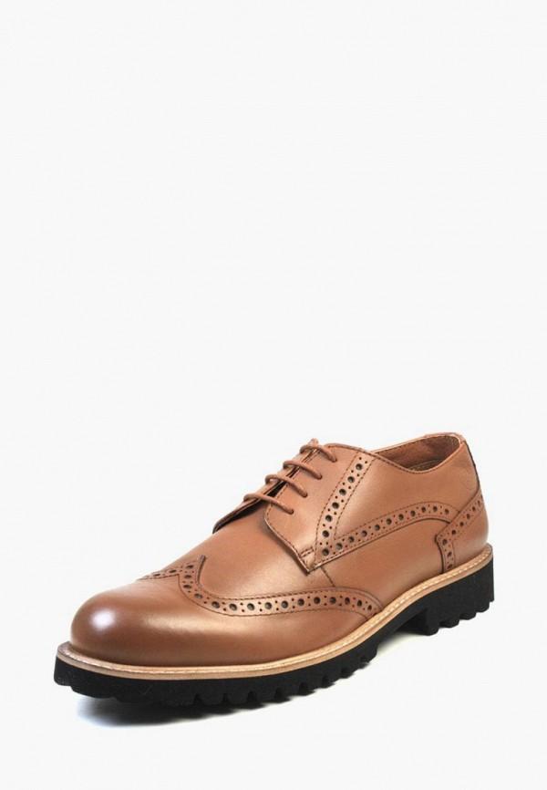 мужские туфли airbox, коричневые