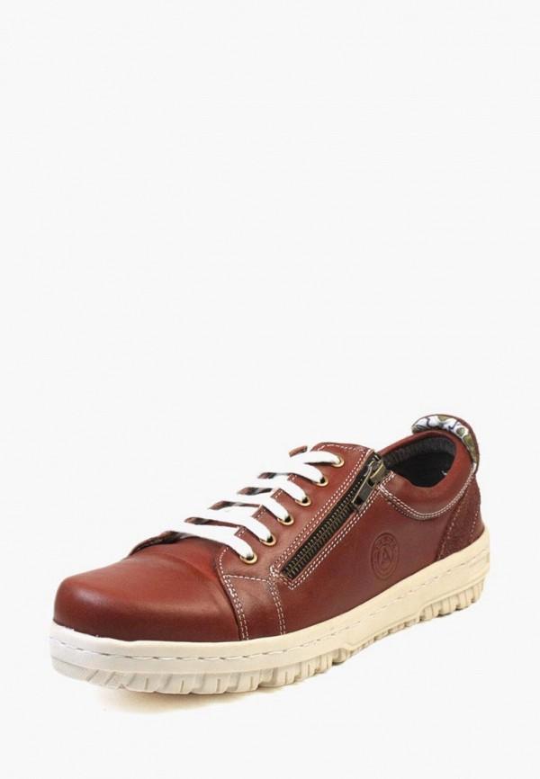 мужские кроссовки airbox, коричневые