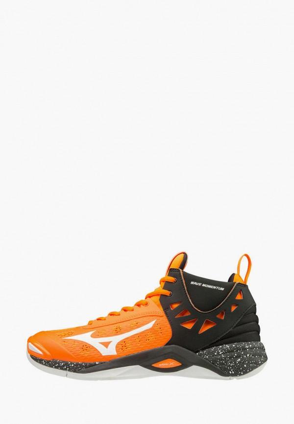 мужские кроссовки mizuno, оранжевые
