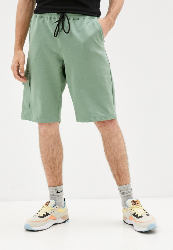 Шорты спортивные D.S зеленого цвета