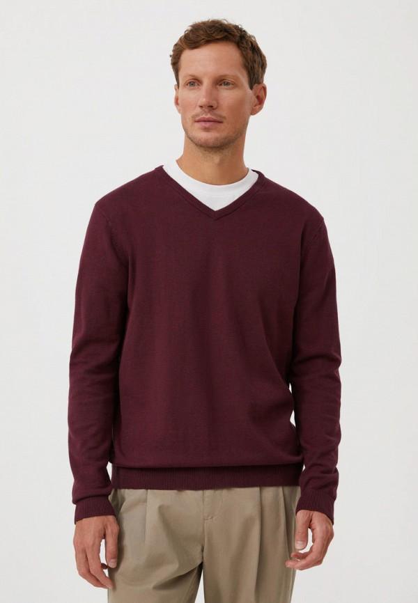 Пуловер Finn Flare бордового цвета