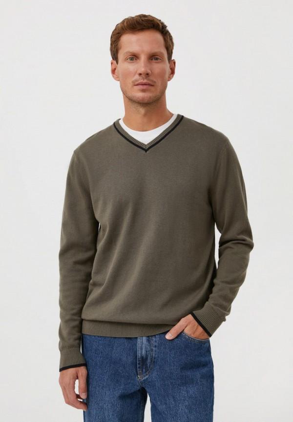 Пуловер Finn Flare цвета хаки