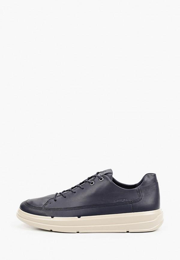 мужские низкие кроссовки ecco, синие