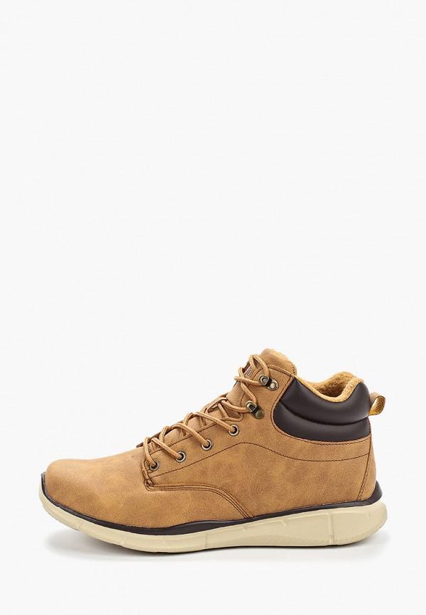 мужские ботинки timejump, коричневые
