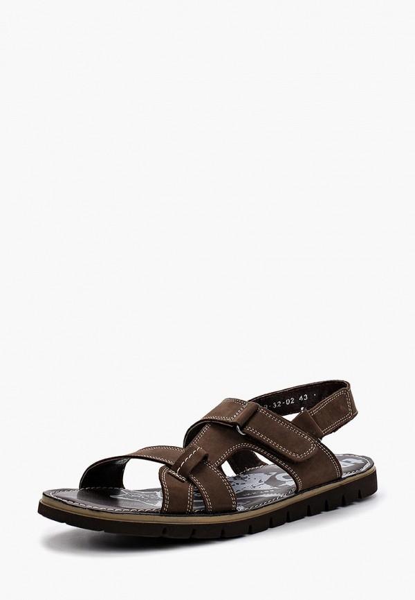 Купить Сандалии Dino Ricci Trend, MP002XM12HNB, коричневый, Весна-лето 2018