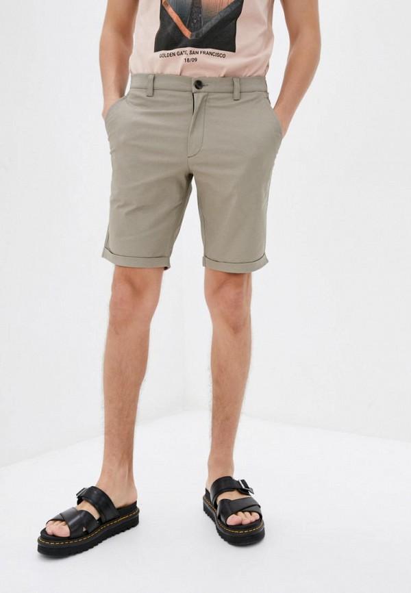 мужские повседневные шорты pate, бежевые