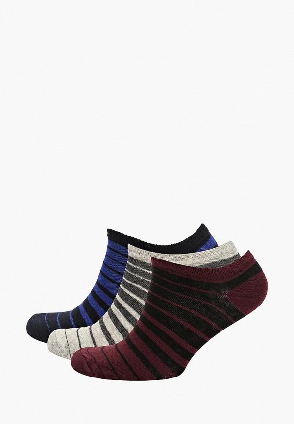 Носки  - бордовый, серый, синий цвет