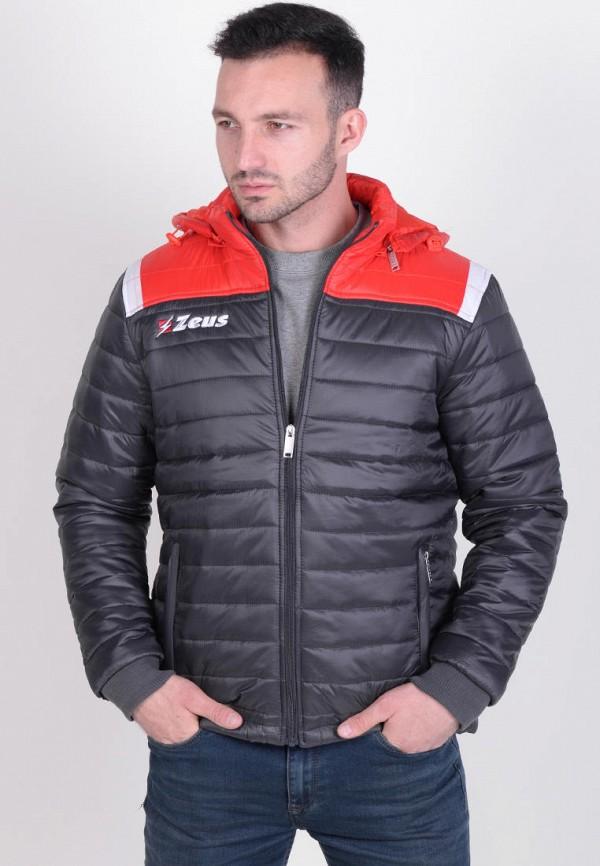 мужская куртка zeus, серая